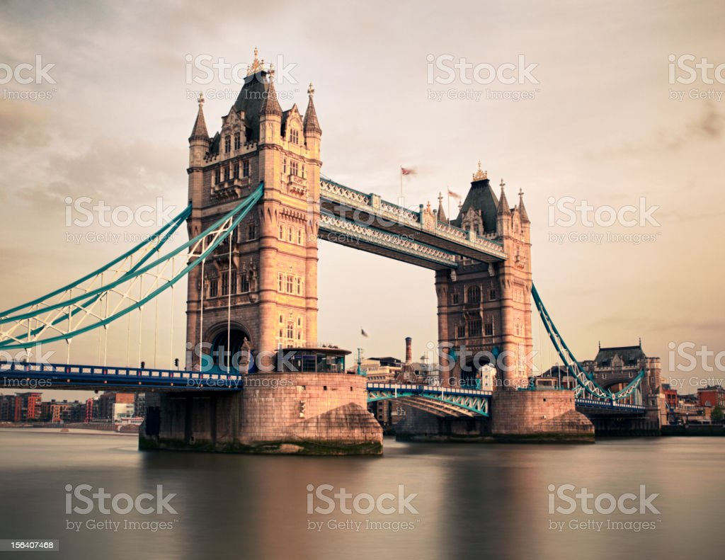 Tower Bridge royalty-free stock photo