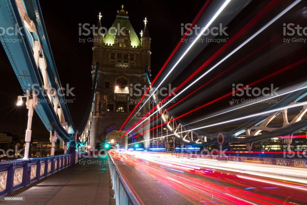 Tower Bridge - Lizenzfrei Architektur Stock-Foto