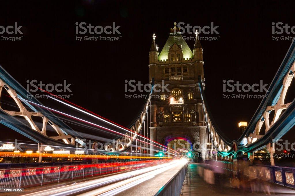 Tower Bridge - Royaltyfri Arkitektur Bildbanksbilder