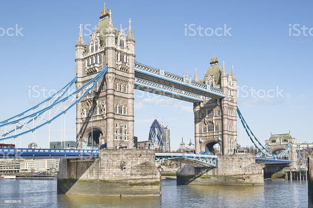 타워 브리지 royalty-free 스톡 사진