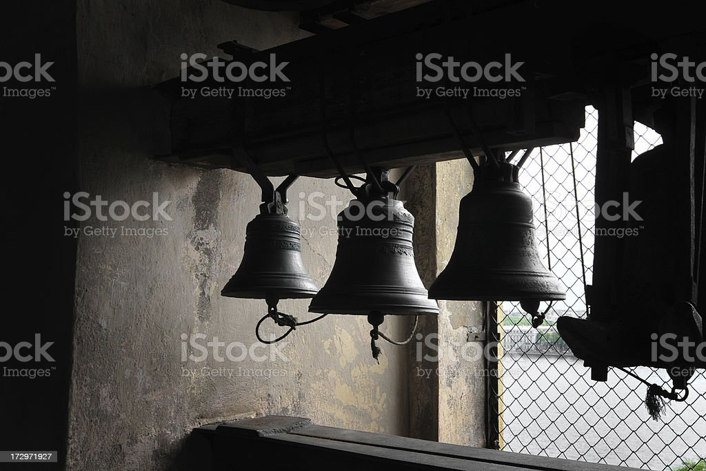 Tower Carillon Bells royalty-free stock photo