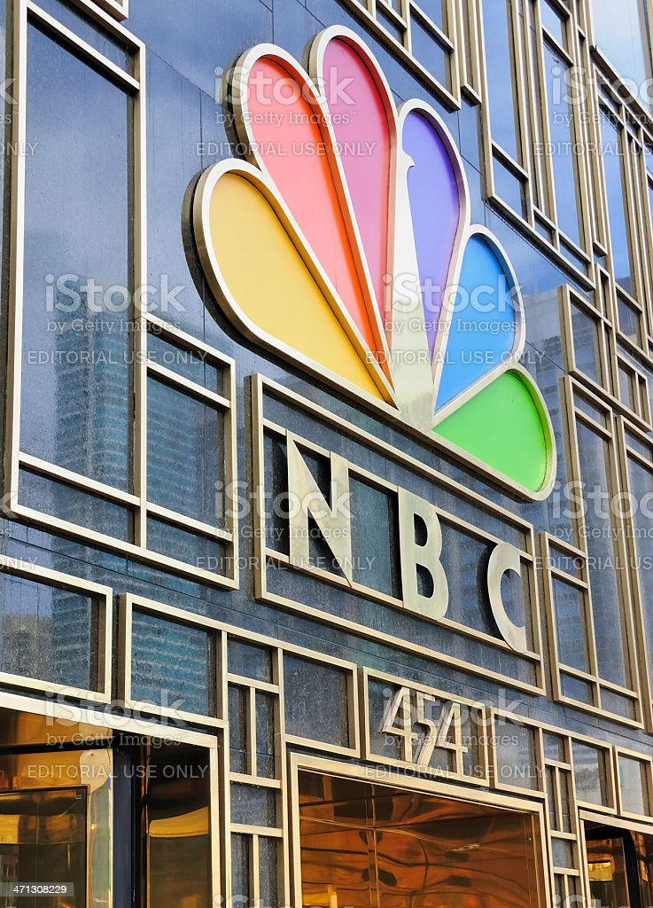 NBC Tower, Chicago royalty-free stock photo