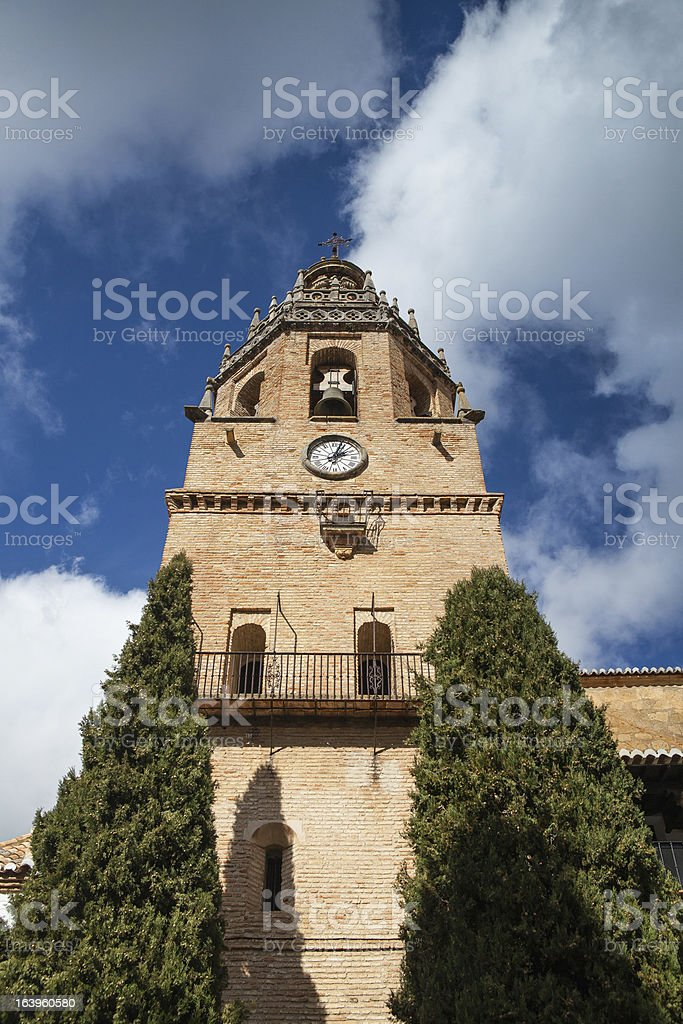 Tower clock royalty-free stock photo
