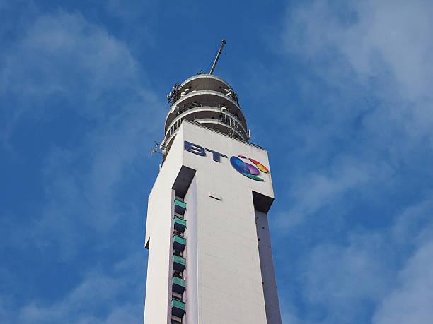 BT Tower em Birmingham - foto de acervo