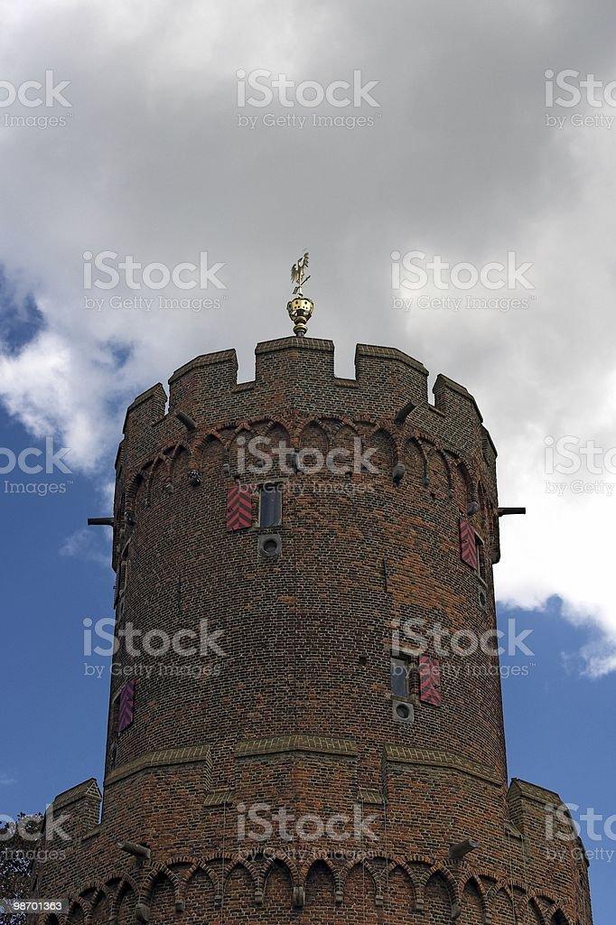Tower in Nijmegen royalty-free stock photo