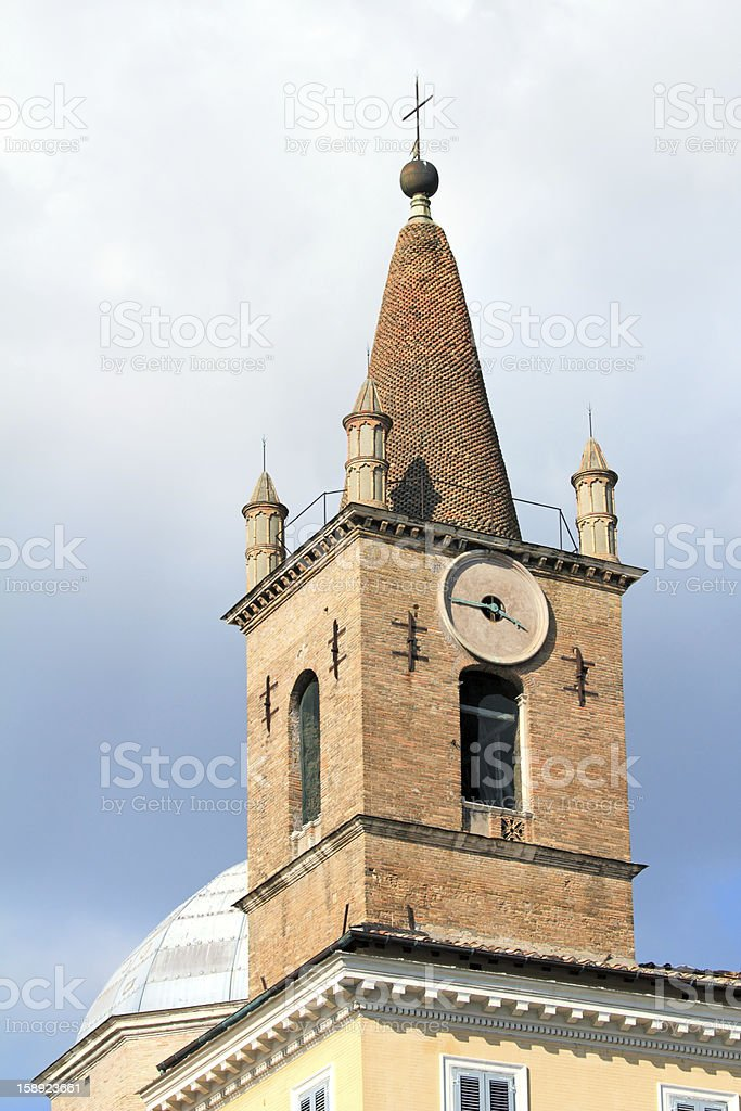 Tower in Rome. royalty-free stock photo