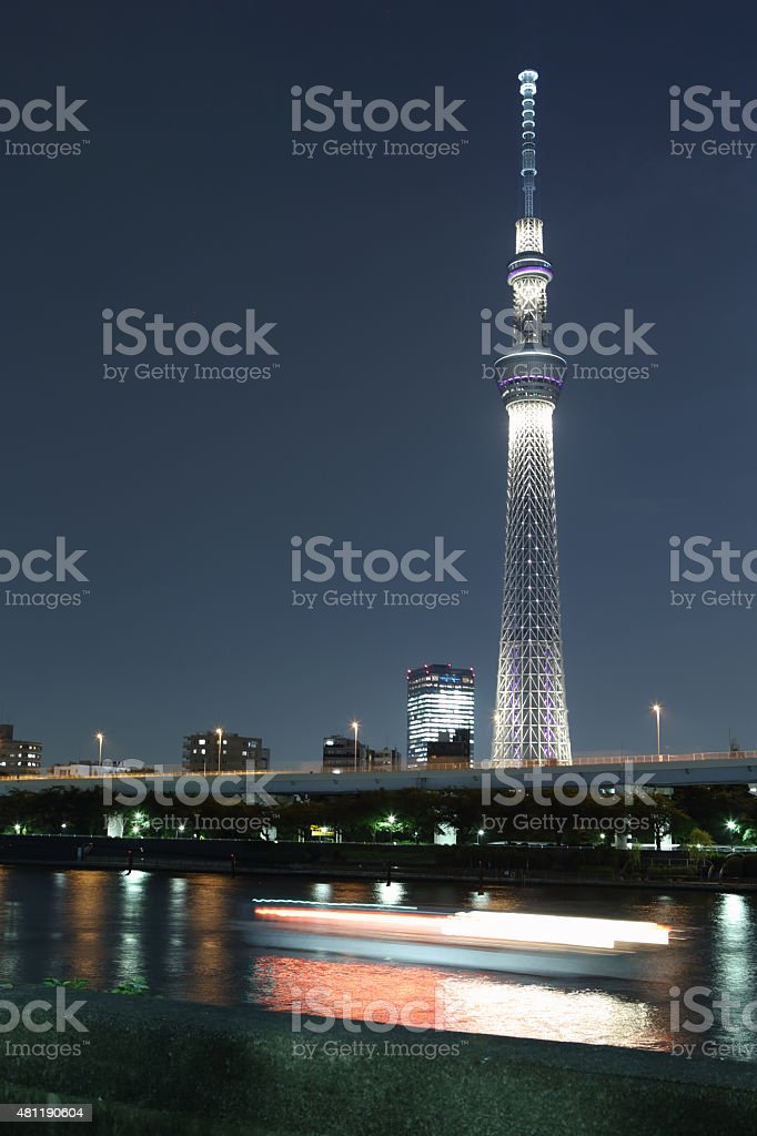 Tokyo Skytree Tower is the tallest free-standing broadcasting tower...