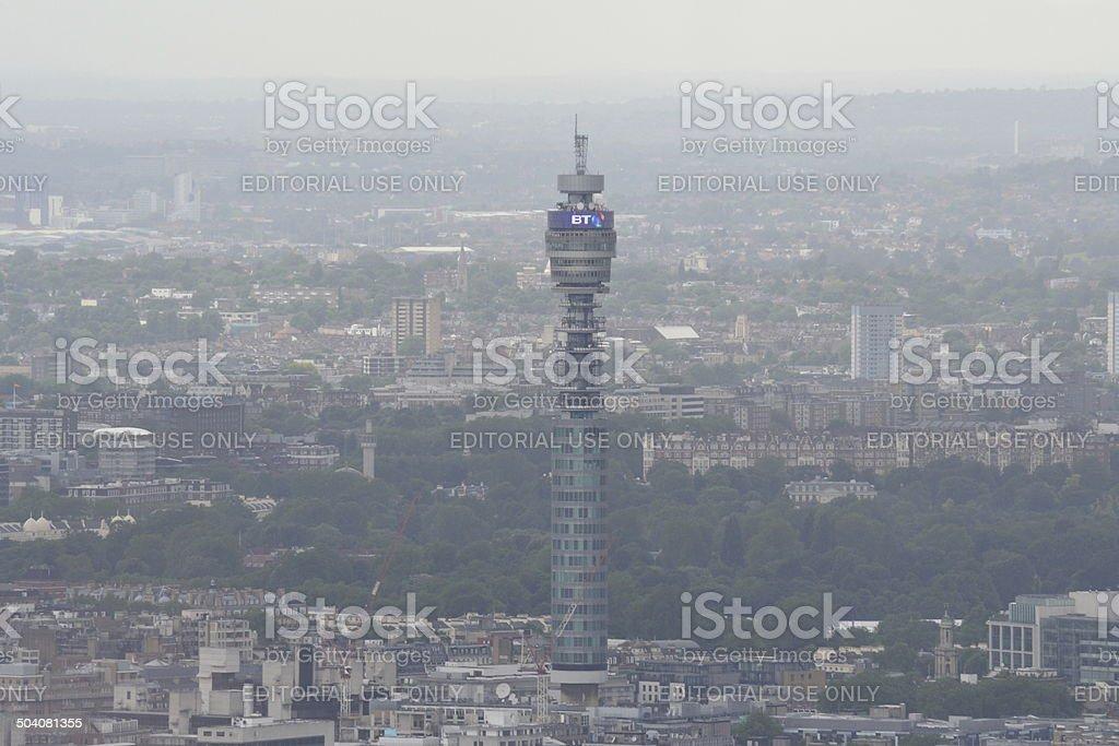 BT Tower, London stock photo