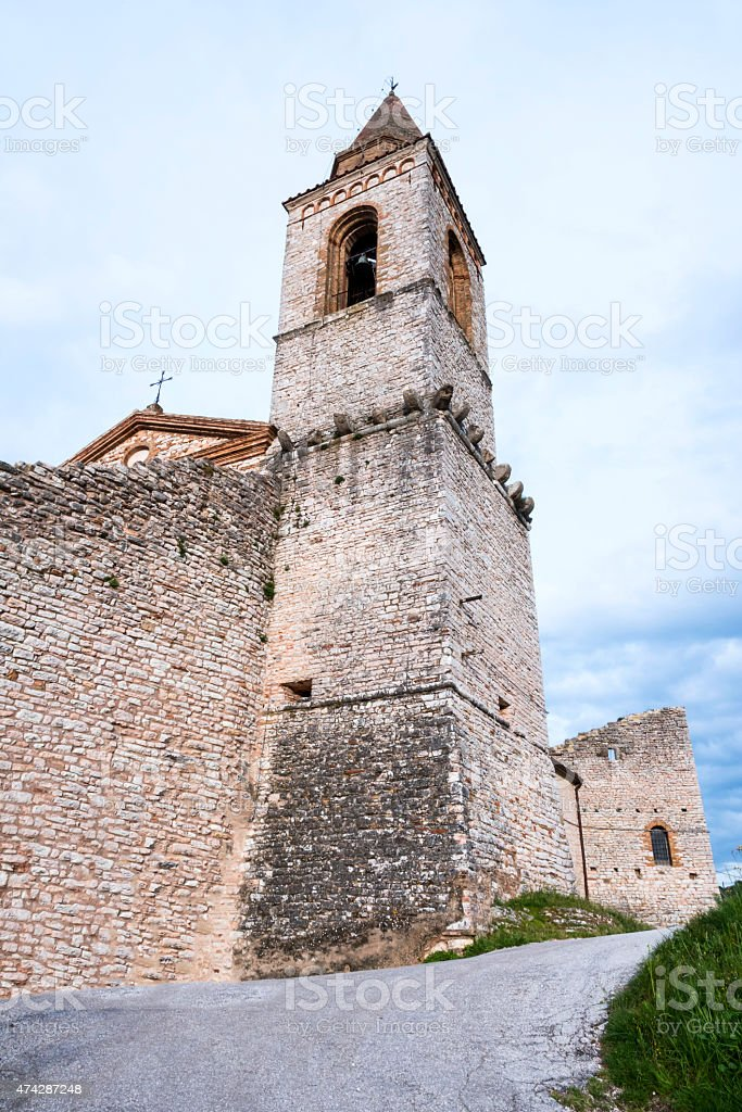 tower, medieval art stock photo