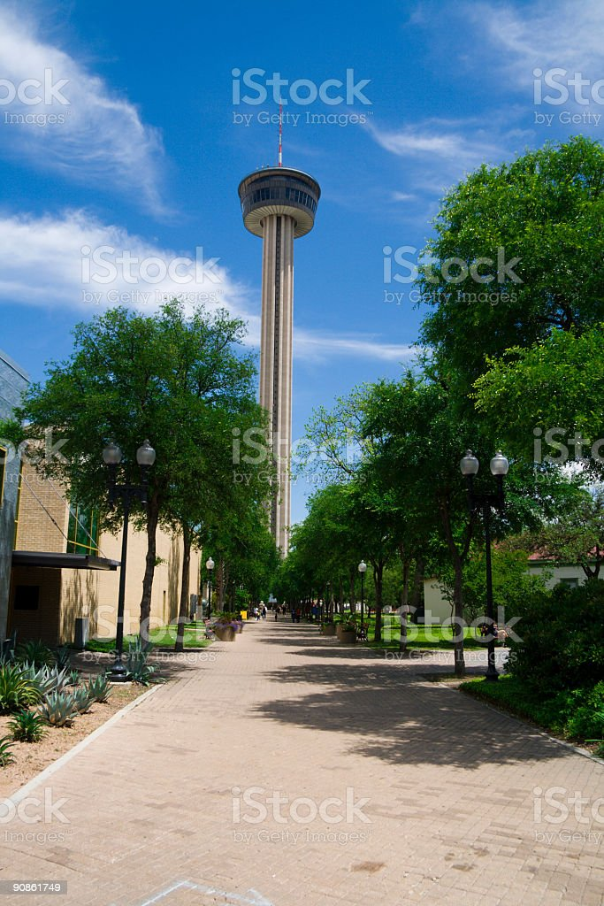 Tower of Americas royalty-free stock photo