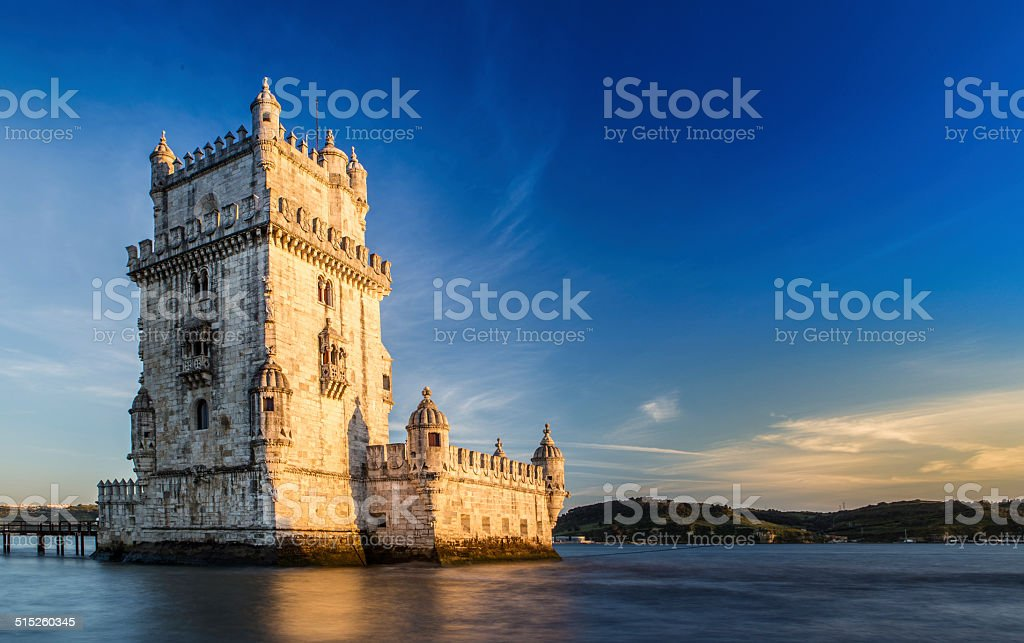 Tower of Belem, Lisbon stock photo