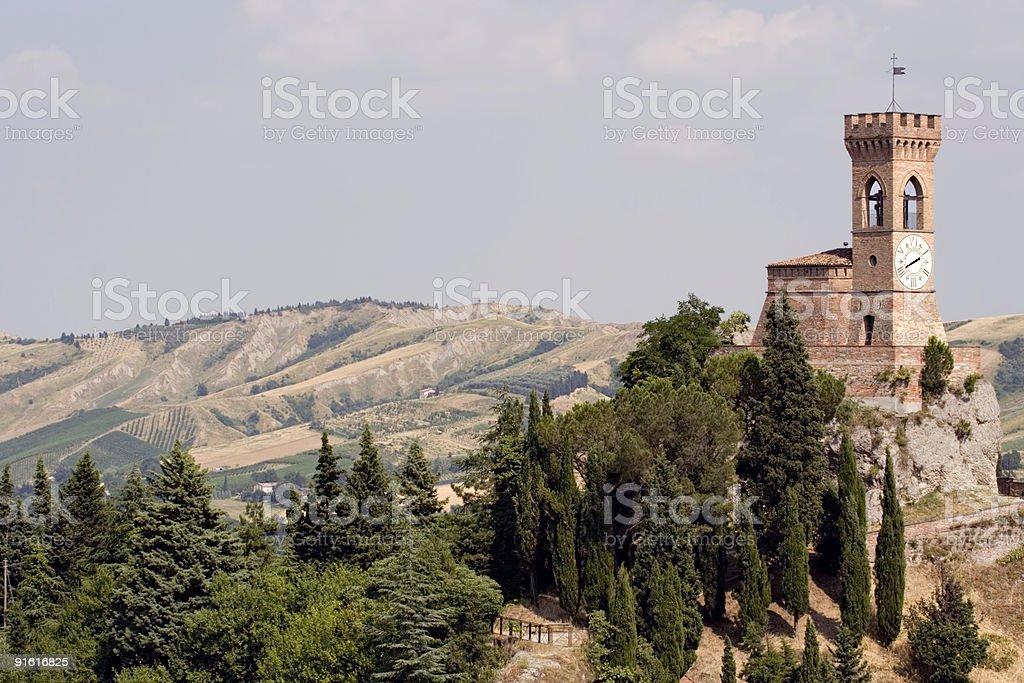 Tower of Brisighella royalty-free stock photo