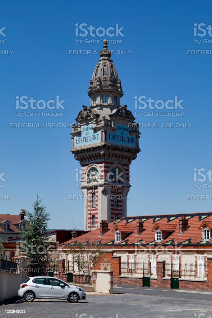 Tower of Castellane in Epernay - Royalty-free Architecture Stock Photo