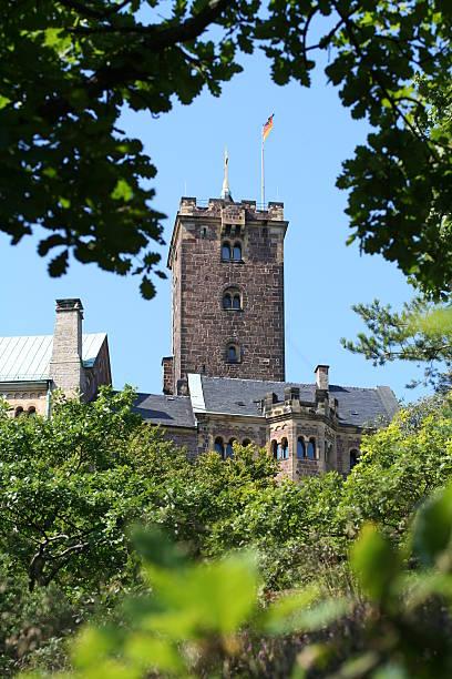 "Tower of Castle ""Wartburg"" stock photo"