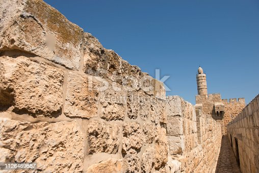 The Tower of David  Museum of the History of Jerusalem is located in the medieval citadel known as the Tower of David, near the Jaffa Gate, the historic entrance to the Old City.