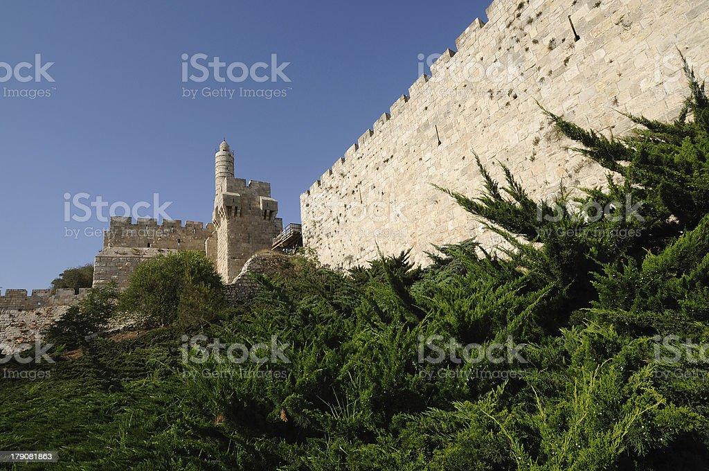 Tower of David, jerusalem,israel royalty-free stock photo