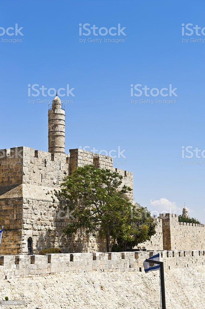 Tower of David royalty-free stock photo
