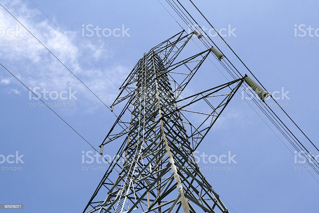 Tower of Energy stock photo