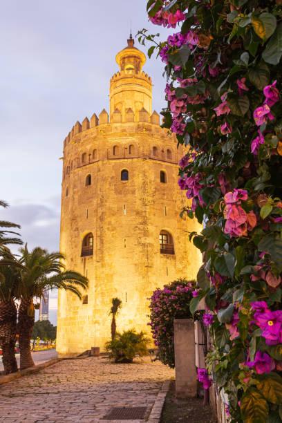 Torre de Oro - foto de stock