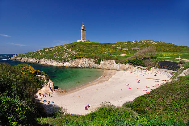 Tower of Hercules  galicia stock pictures, royalty-free photos & images