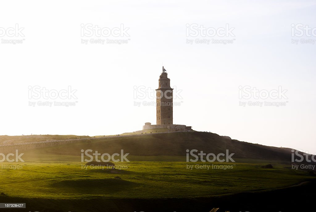Torre de Hercules stock photo