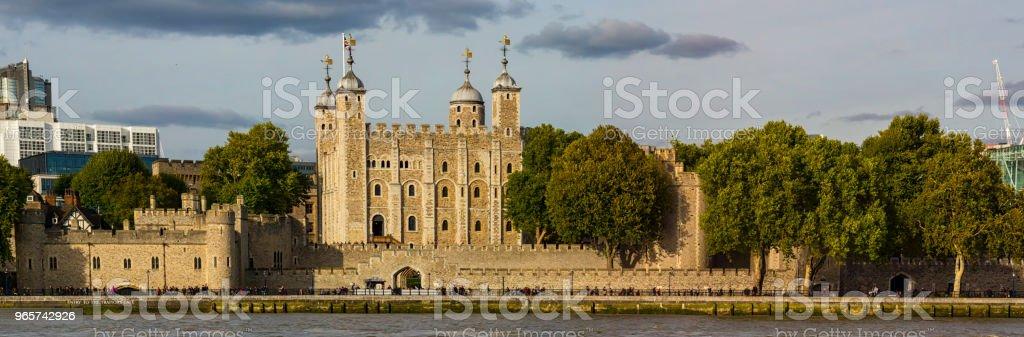 Kasteel van de Tower of London - Royalty-free Antiek - Toestand Stockfoto
