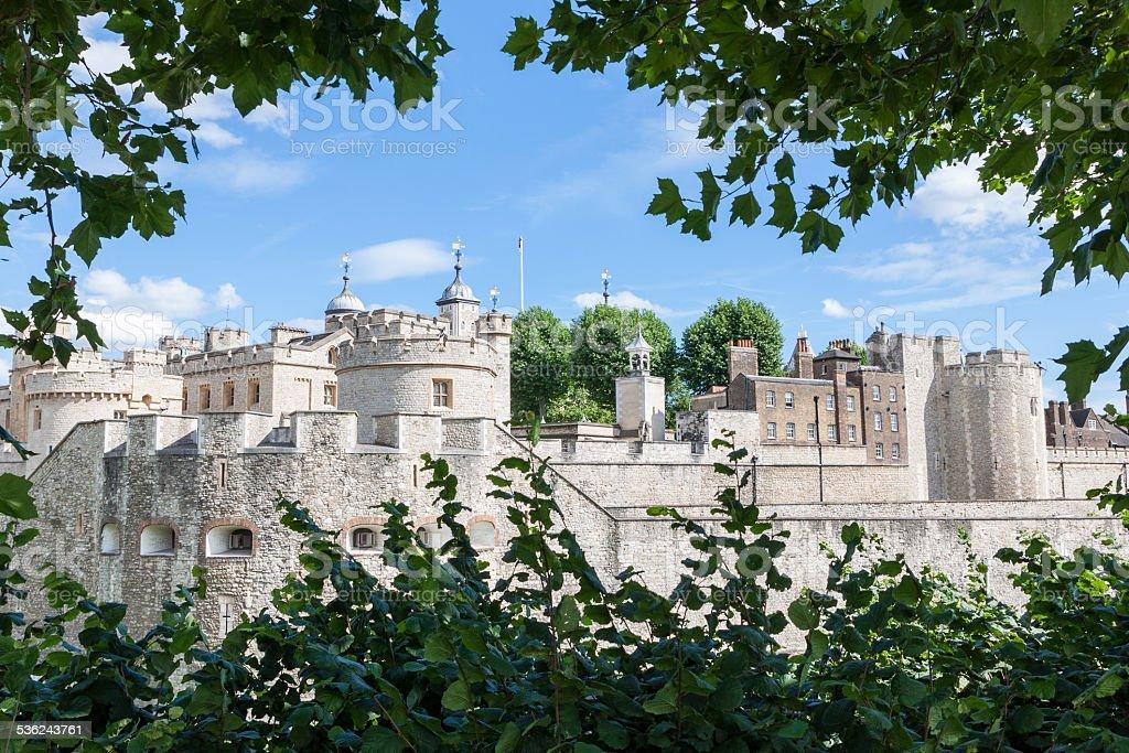 Tower of London, England, UK stock photo