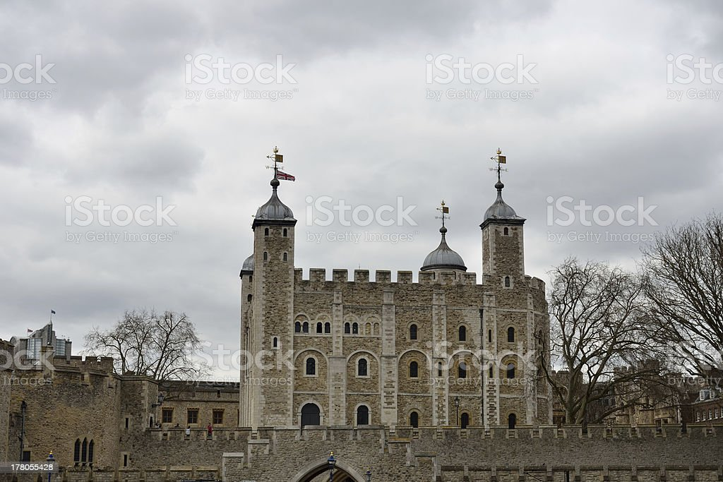 Tower of London in City stock photo