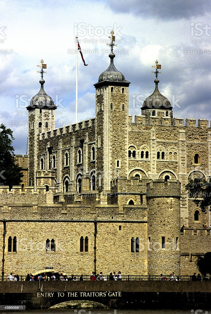 Tower of London royalty-free stock photo