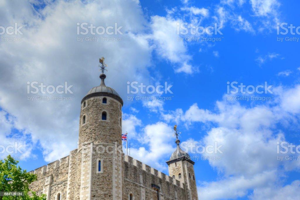 Tower of London royaltyfri bildbanksbilder