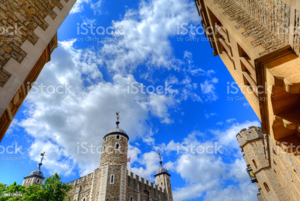 Tower of London foto stock royalty-free
