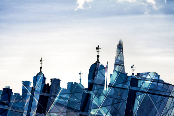 Tower of London Skyline Abstract stock photo