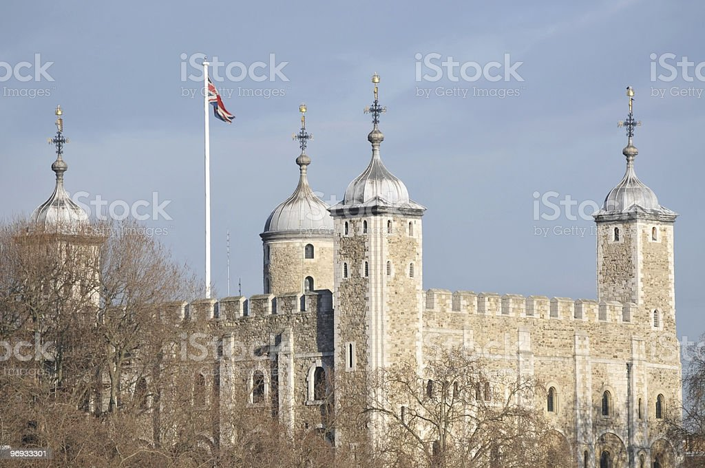 Tower of London, UK royalty-free stock photo