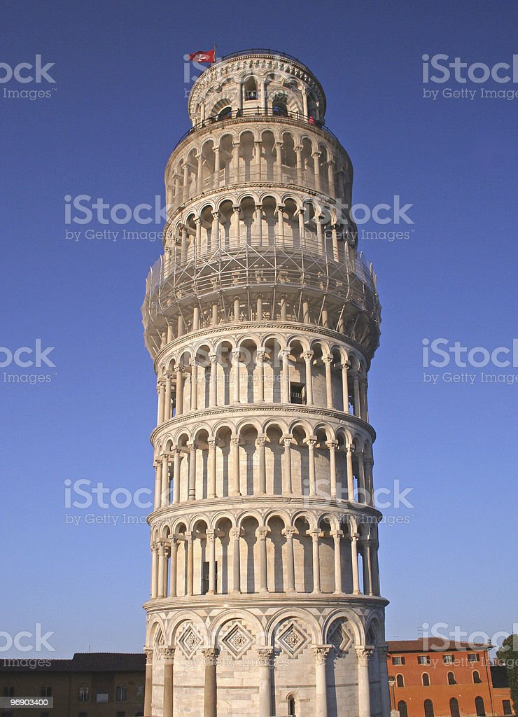 Tower Of Pisa royalty-free stock photo
