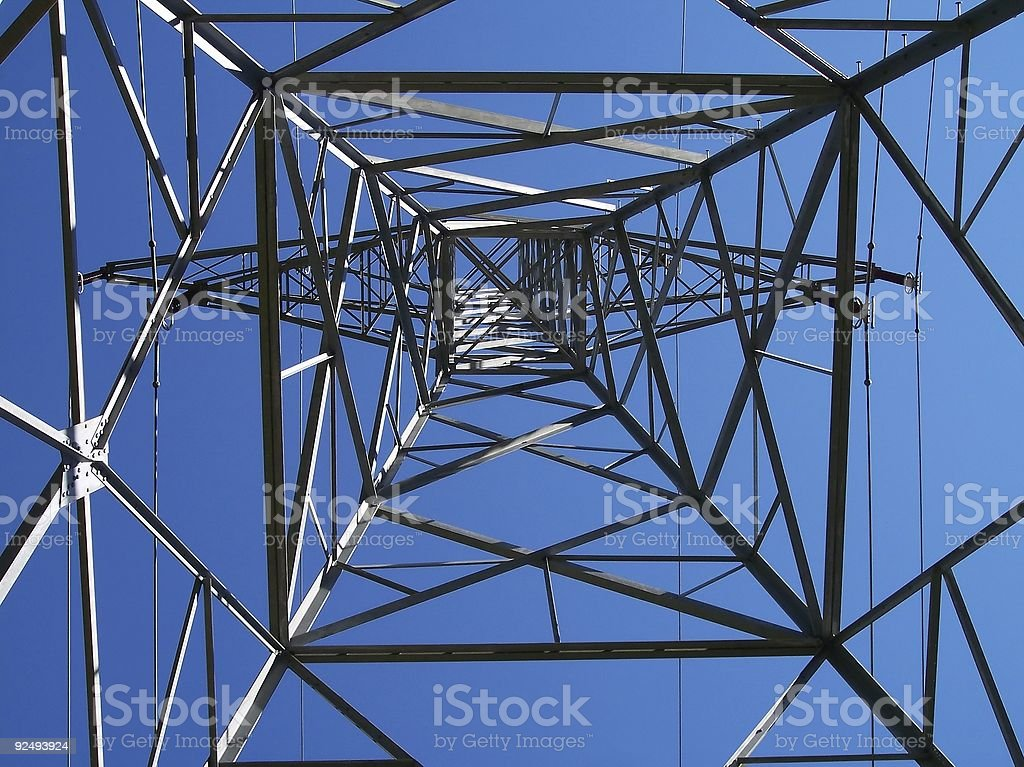 Tower of Power royalty-free stock photo