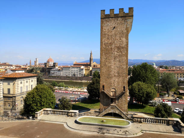 Tower of San Niccolo', Florence, Tuscany stock photo