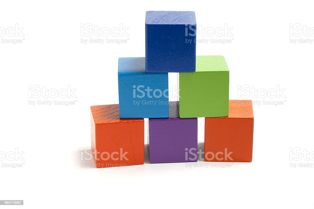 Tower of six royalty-free stock photo