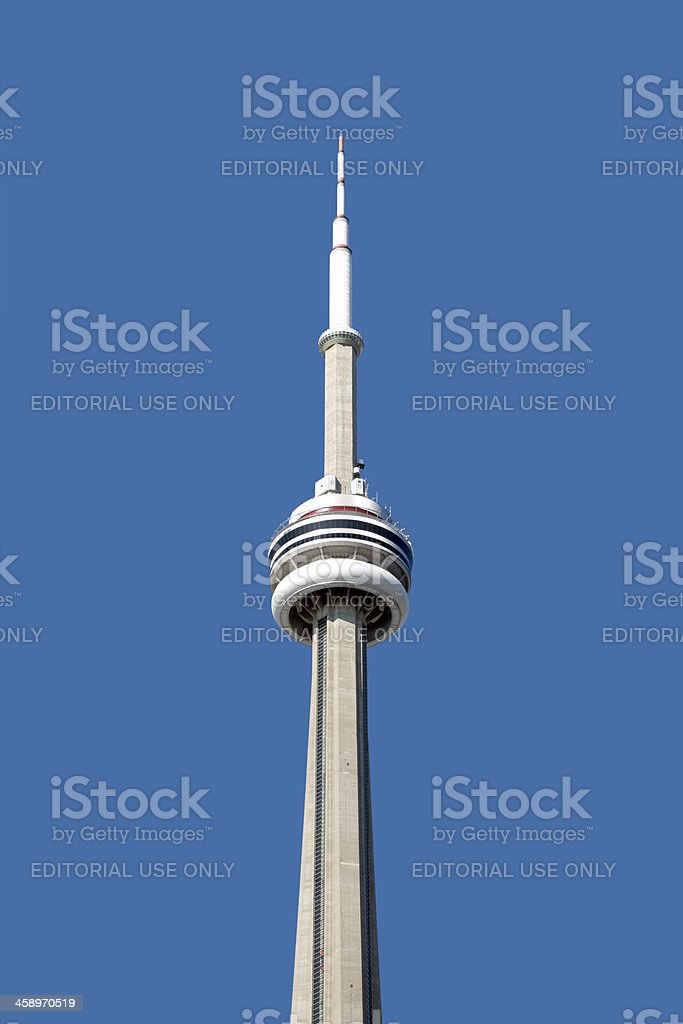CN Tower royalty-free stock photo