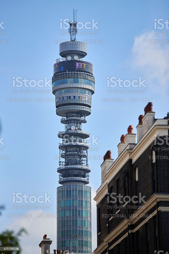 BT Tower stock photo