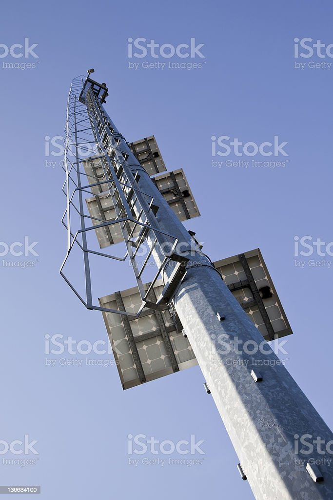 Tower Security royalty-free stock photo