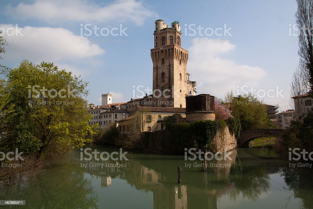 Tower Specola stock photo