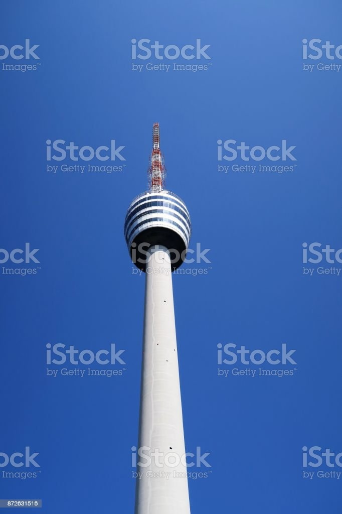 TV Tower Stuttgart stock photo