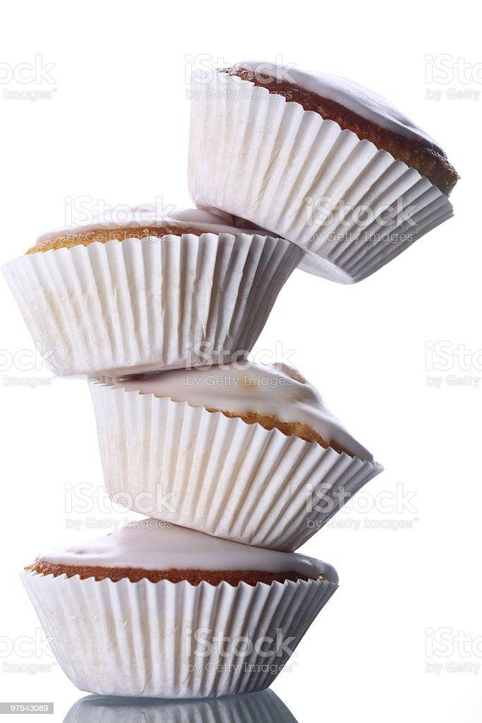 Sucre Muffins Tour photo libre de droits