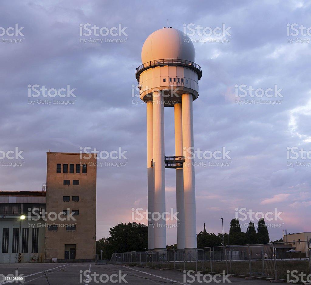 tower tempelhof stock photo