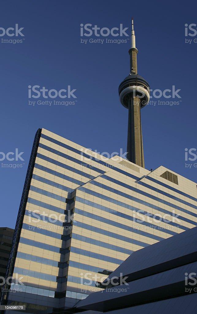 CN tower - Toronto royalty-free stock photo
