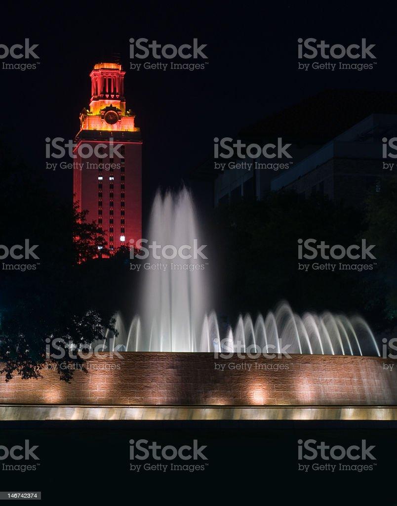 UT Tower - University of Texas at Austin stock photo
