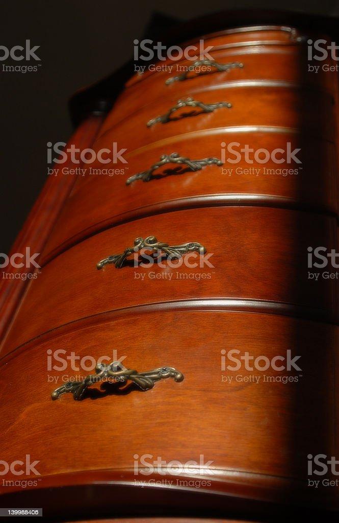towering dresser royalty-free stock photo