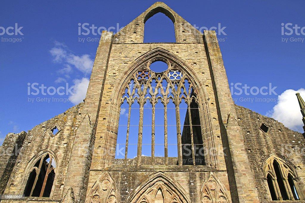 Towering Ruin stock photo