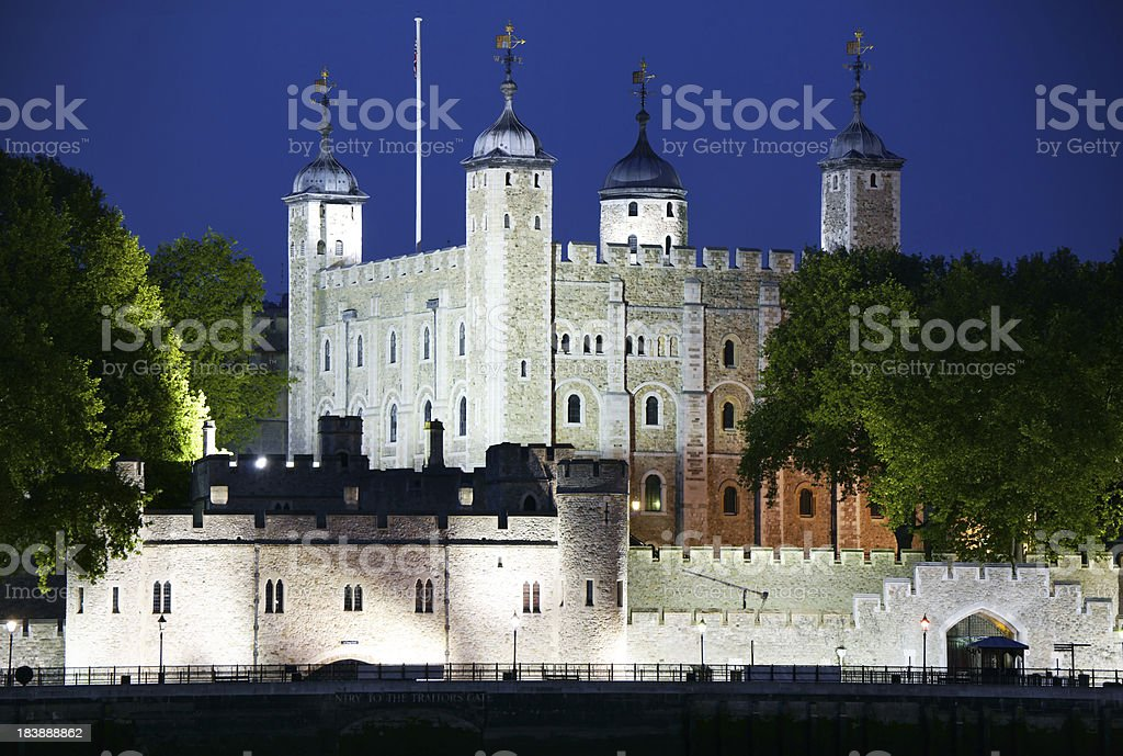 Towers Of London stock photo