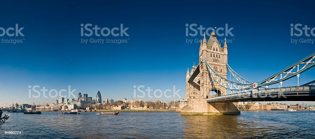 Towers of London royalty-free stock photo